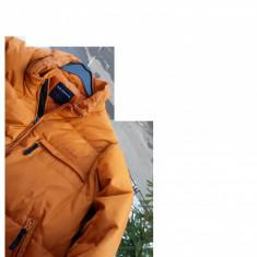 Geaca barbati Adidas pene-puf LE FROG nr.L originala, Marime: L, Culoare: Orange, Bumbac