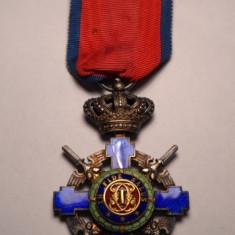 Ordinul Steaua Romaniei Ccavaler Model de Razboi Impecabila