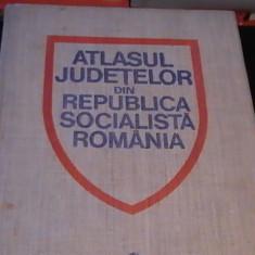 ATLASUL JUDETELOR DIN R S R-139 PG A 3-