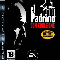 El Padrino Don Corleone PS3 - Jocuri PS3 Ea Games