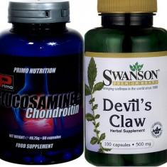 Glucozamin+condroitin+gheara dracului, antidurere, reface cartilajul, PRET SOC! - Supliment nutritiv