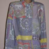 Camasa multicolora Etro, 100% originala - Camasa dama, Marime: M/L