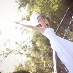 Rochie de mireasa norocoasa