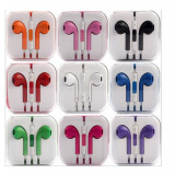 Casti Stereo Jack 3.5mm Tip iPhone, Casti In Ear, Cu fir, Mufa 3, 5mm