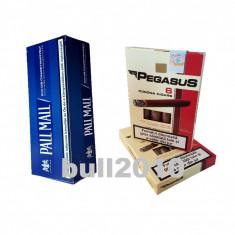 2 x tigari de foi Pegasus 110g tutun + tuburi, filtre Pall Mall