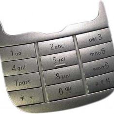 Nokia 7230 Tastatura Argintie Originala swap - Tastatura telefon mobil