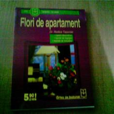 FLORI DE APARTAMENT -DR. RODICA TEPORDEI - Carte gradinarit