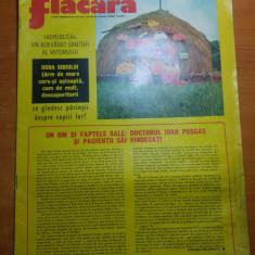 Revista flacara 16 august 1975-art si foto ocna sibiului si sudul olteniei