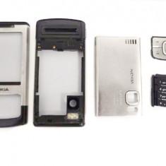 Nokia 6500 slide Carcasa Originala 5 Piese Swap - Argintie