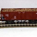 Vagon gondola marca Roco scara HO (5933) - Macheta Feroviara, 1:87, Vagoane