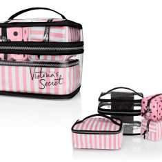 Victoria's Secret Set 4 genti portfard travel - Geanta cosmetice