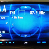 Radio DVD,CD,MP3,USB,iPOD-player JVC KW-AVX720