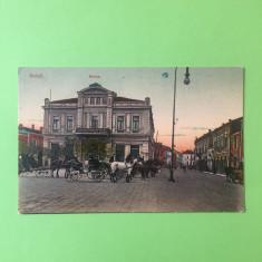 Galati - Bursa - Carte Postala Muntenia 1904-1918, Circulata, Fotografie