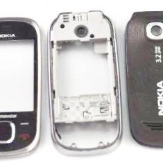 Carcasa Nokia 7230 Originala 3 Piese Swap Neagra