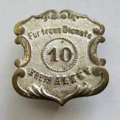 r055 GERMANIA INSIGNA PENTRU LOIALITATE KREIS ALZEY ANII 1910