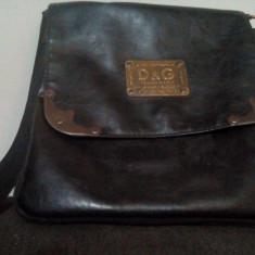 Vand geanta D&G piele - Geanta Barbati D&G, Marime: Medie, Culoare: Negru