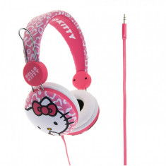 Casti pentru copii peste 8 ani Hello Kitty Essentials Pink Leopard - Casca Inot