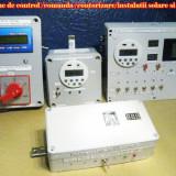 Controler programabil protectie baterii instalatii solare si eoliene