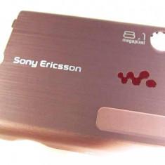 Capac Baterie Spate Sony Ericsson W995 Original Swap Roz