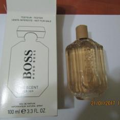 PARFUM TESTER HUGO BOSS SCENT --100 ML -SUPER PRET, SUPER CALITATE! - Parfum femeie Hugo Boss, Apa de parfum