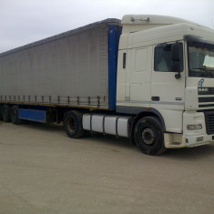 DAF XF 95.430 și Semiremorcă KRONE SDP 27 - Camion