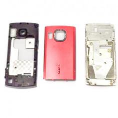 Carcasa Nokia 6700 Slide Originala 3 Piese Swap Rosie