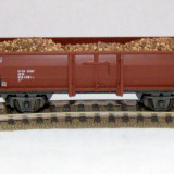 Vagon gondola marca Roco scara HO (5927) - Macheta Feroviara, 1:87, Vagoane