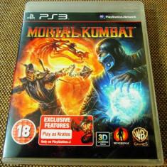 Joc Mortal Kombat, PS3, original, alte sute de jocuri! - Jocuri PS3 Altele, Actiune, 18+, Single player