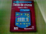 TESTE DE CHIMIE CLASA A VIII -A -GEORGETA TANASESCU -MARIA NEGOIU, Clasa 8, Alta editura