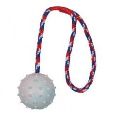 Jucărie câine pe coardă - 6cm minge