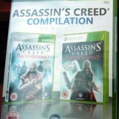 Assassin's Creed Brotherhood + Revelations, XBOX360, sigilat! - Jocuri Xbox 360, Actiune, 18+, Single player