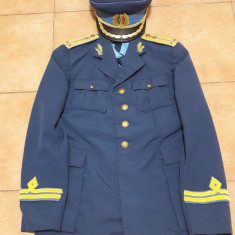 Uniforma ofiter aviatie R.S.R - Uniforma militara, Marime: L, Culoare: Albastru