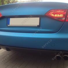 Difuzor evacuare bara spate Audi A4 B8 8K S4 RS4 S line ver4 - Body Kit