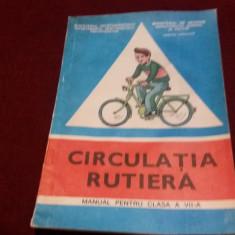 MANUAL CIRCULATIA RUTIERA CLASA VII - Carte educativa