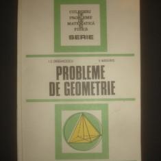 I. C. DRAGHICESCU * V. MASGRAS - PROBLEME DE GEOMETRIE