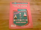 TESTE DE CHIMIE -CLASA A VII- A -GEORGETA TANASESCU -MARIA NEGOIU, Clasa 7, Alta editura