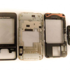 Sony Ericsson C903 Kit With Front Cover, Chassis, Keypad Frame, Complete Menu Keypad And Cyber-shot Logo Swap