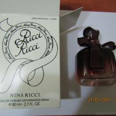 PARFUM TESTER NINA RICCI RICCI --80 ML -SUPER PRET, SUPER CALITATE! - Parfum femeie Nina Ricci, Apa de parfum