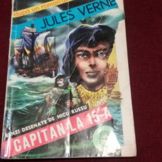 JULES VERNE - CAPITAN LA 15 ANI BENZI DESENATE - Reviste benzi desenate