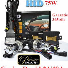 Kit Xenon H4 6000k 75 W Premium Plus Aprindere Instanta