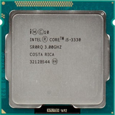Procesor socket 1155 Intel Ivy Bridge, Core i5 3330 3.0GHz - Procesor PC Intel, Intel Core i5, Numar nuclee: 4, 2.5-3.0 GHz