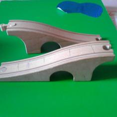Sine de lemn / trenulete / Ikea - pod - Jocuri Seturi constructie, Unisex