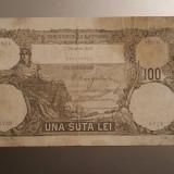 Bancnota Romania 100 Lei Decembrie 1931