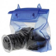 Husa waterproof transparenta pentru DSLR - Geanta Aparat Foto