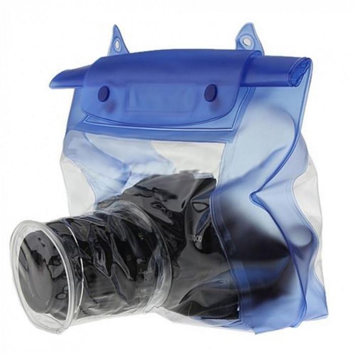 Husa waterproof transparenta pentru DSLR