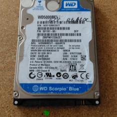HDD LAPTOP WESTERN DIGITAL S-ATA 2.5