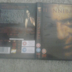 Hannibal (2001) – DVD - Film thriller, Engleza