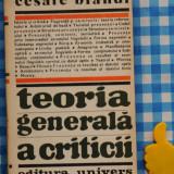 Teoria generala a criticii Cesare Brandi