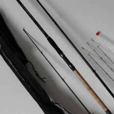 Lanseta FL Ultra Feeder Magic Stick 3, 3 Metri Carbon Actiune 60-120 gr + 3vf, Lansete Feeder si Piker