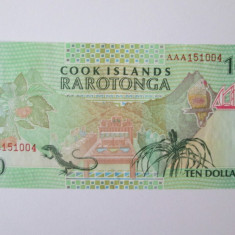 Cook Islands 10 Dollars 1992 UNC